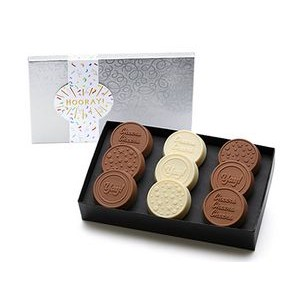 New! 9-Pack Celebration Chocolate Dipped Oreos