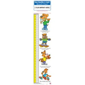 Growth Chart - Stay Healthy & Safe