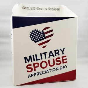 COOKIE BOX - Grandma's Gourmet Cookie Box - Military Awareness Design