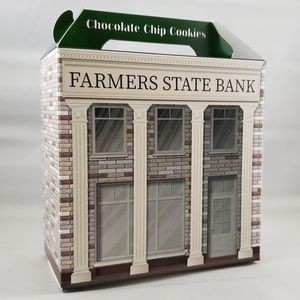COOKIE BOX - Grandma's Gourmet Cookie Box - Bank Design
