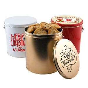 1 Gallon Gift Tin w/Cookies