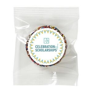 Chocolate Covered Oreo® - Rainbow Nonpareil Sprinkles
